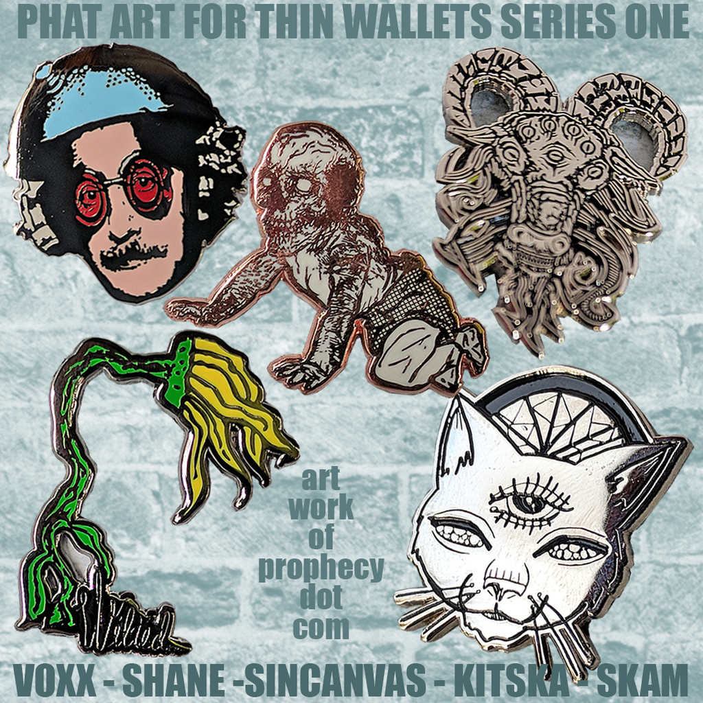 phat art for thin wallets series #1