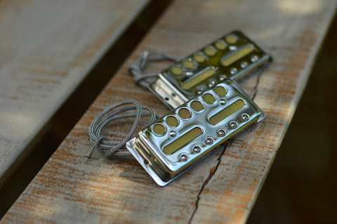 Body Mount Gold Foil Pickup