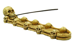 "11"" Skulls Incense Burner"