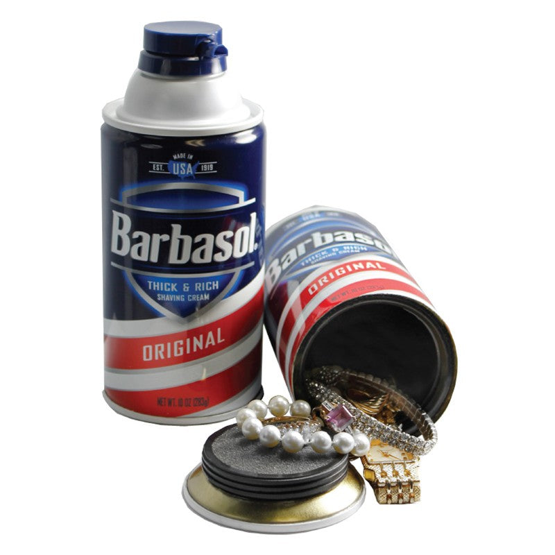 Stash Safe - Barbasol Shaving Cream