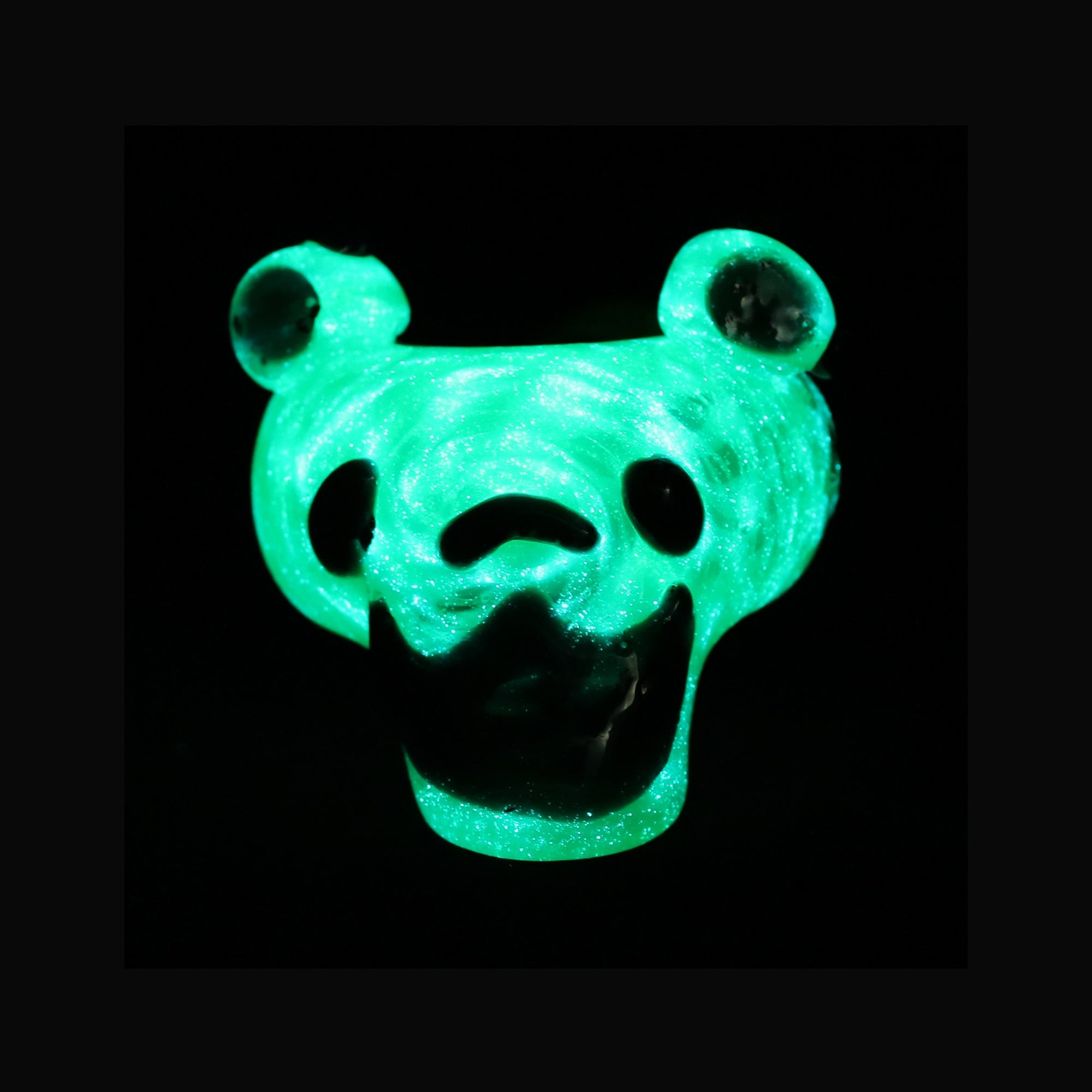 Dead Head Bear - Glow Striped