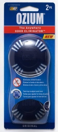 2pk Ozium Disk Air Freshener - Outdoor Essence