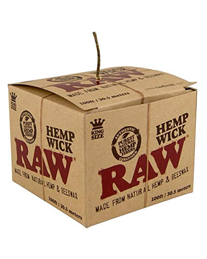 Raw 100ft Hempwick