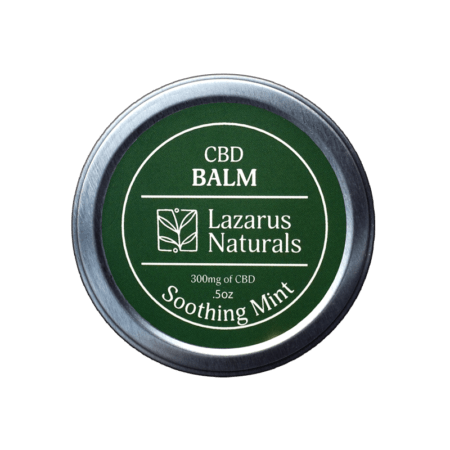 Lazarus Naturals 300mg CBD Balm - Soothing Mint