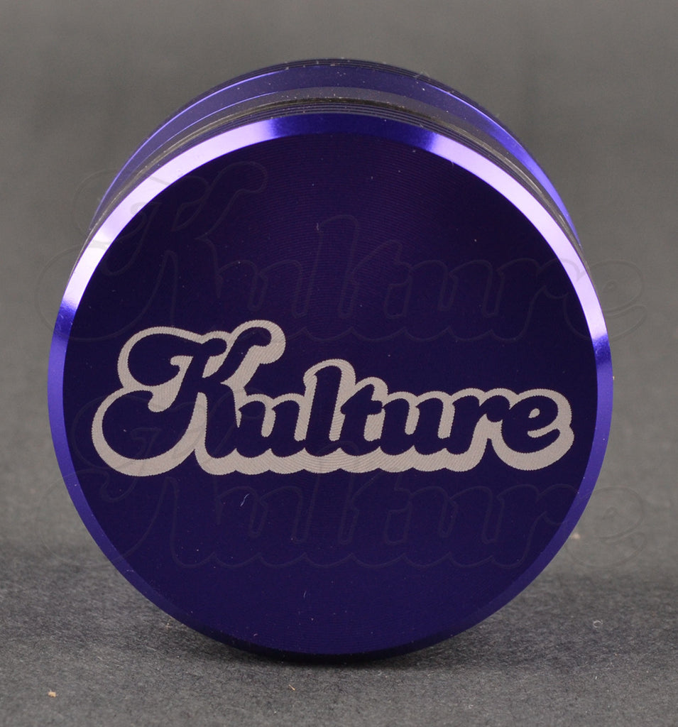 Kulture 50mm Purple Multistage 4 Piece Grinder 1