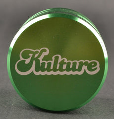Kulture 50mm Green Multistage 4 Piece Grinder 1