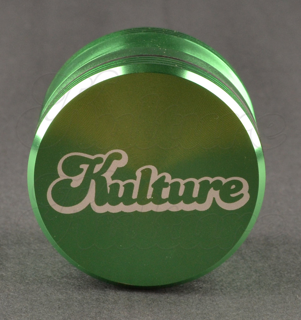Kulture 62mm Green Multistage 4 Piece Grinder 1