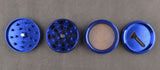 Kulture 50mm Blue Multistage 4 Piece Grinder 1