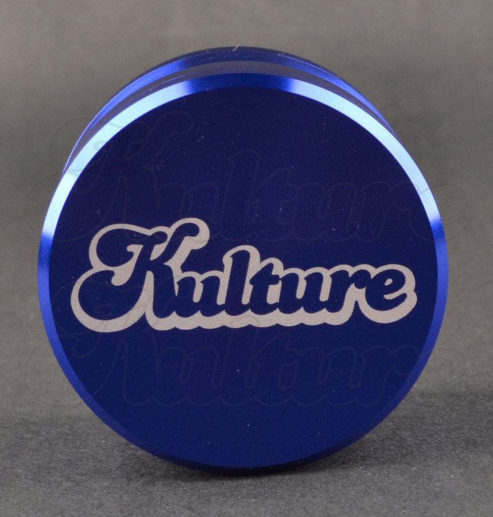 Kulture 55mm Blue Multistage 4 Piece Grinder 1
