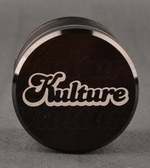 Kulture 50mm Black Multistage 4 Piece Grinder 1