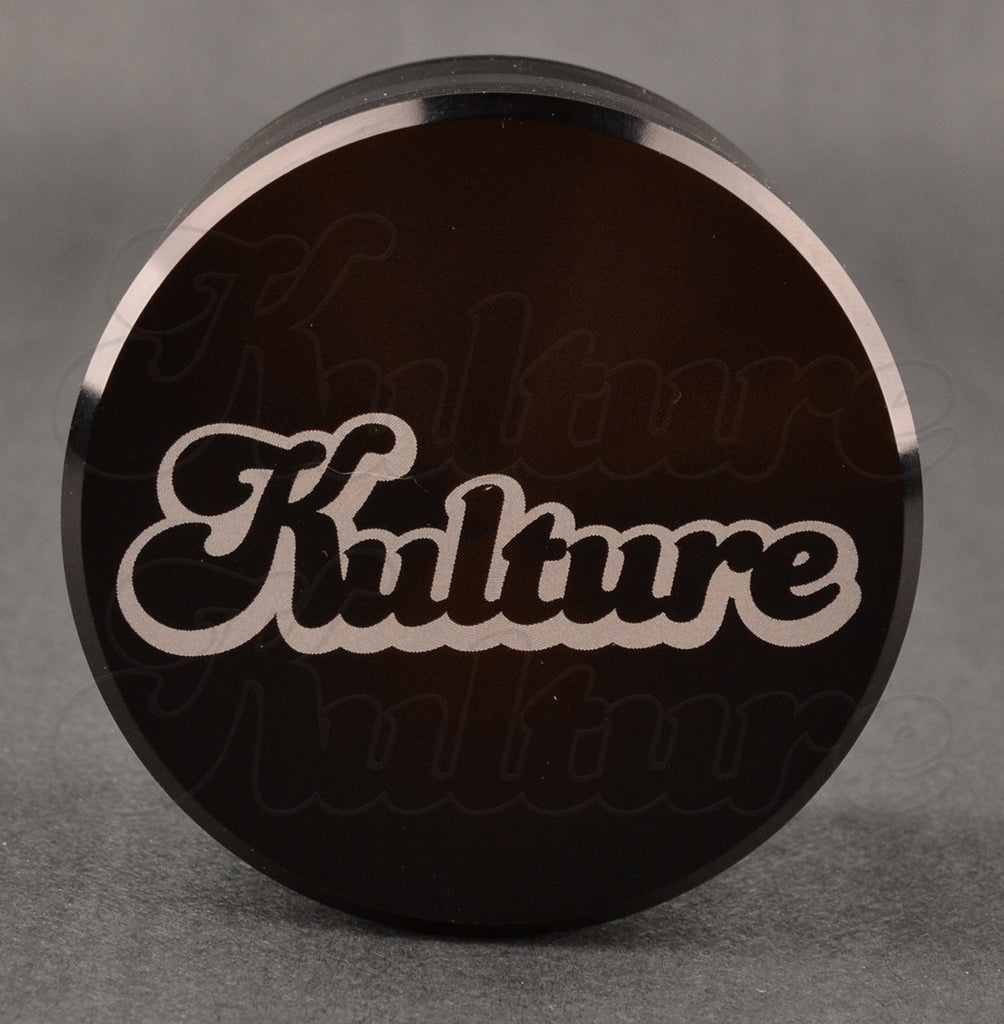 Kulture 62mm Black Multistage 4 Piece Grinder 1