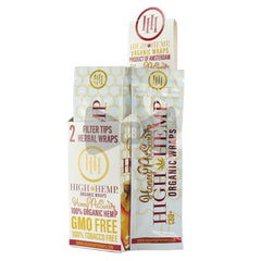 High Hemp Organic Wraps - Honeypot Swirl
