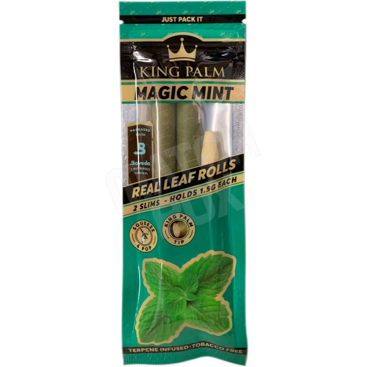 King Palm Mint 2pk Slim