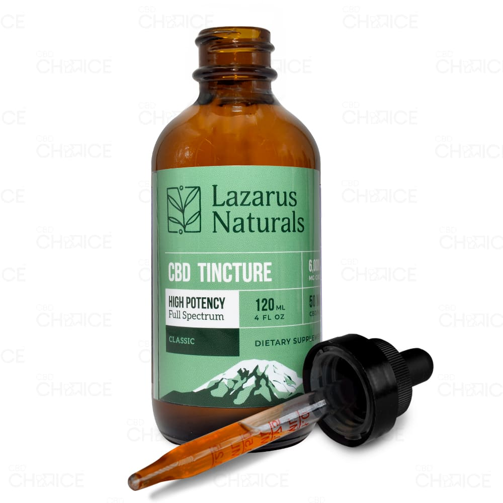 Lazarus Naturals Classic High Potency CBD Tincture 6000mg