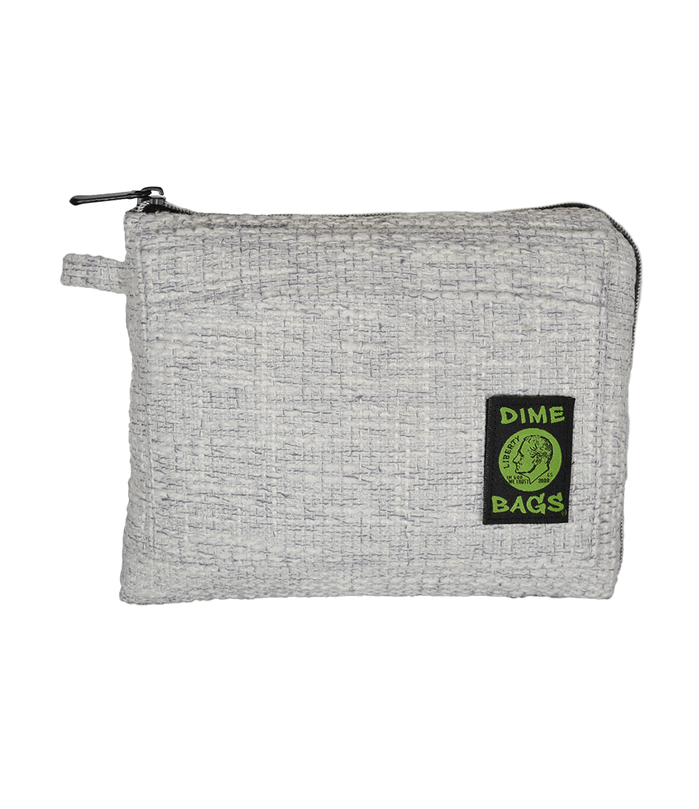 "Dime Bag - 10"" Pouch - Gray"