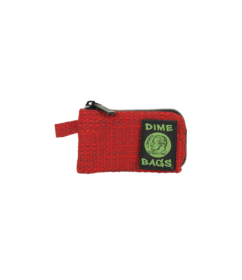 "Dime Bag - 5"" Pouch - Red"
