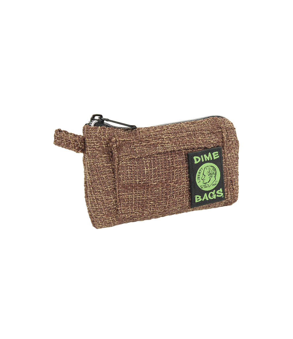 "7"" Brown Pouch by Dime Bag"
