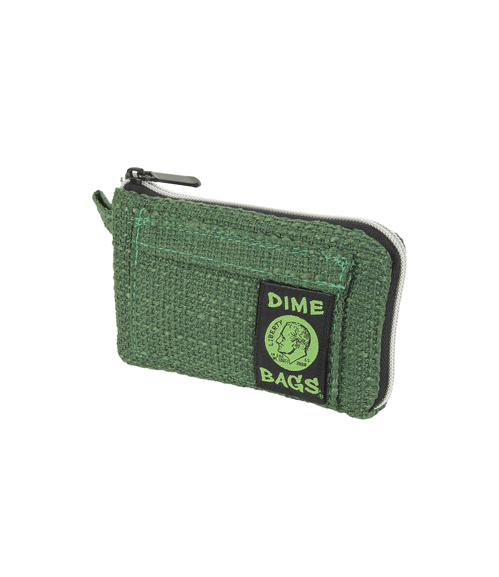 "7"" Forest Green Pouch by Dime Bag"