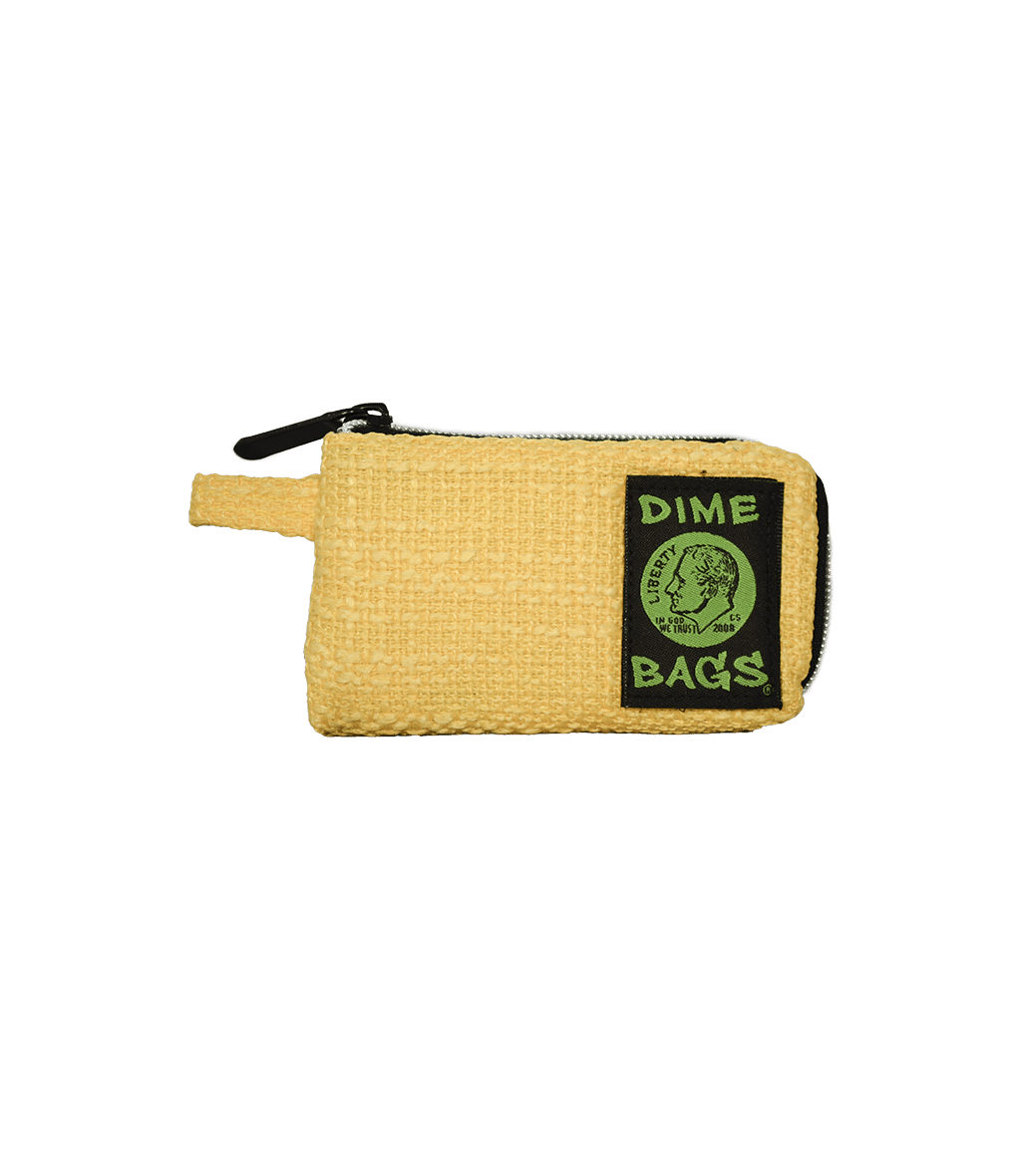 "7"" Yellow Pouch by Dime Bag"