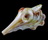 Conch Shell Glass Pipe 469-N