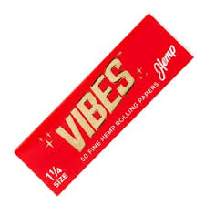 Vibes Hemp 1 1/4 Papers