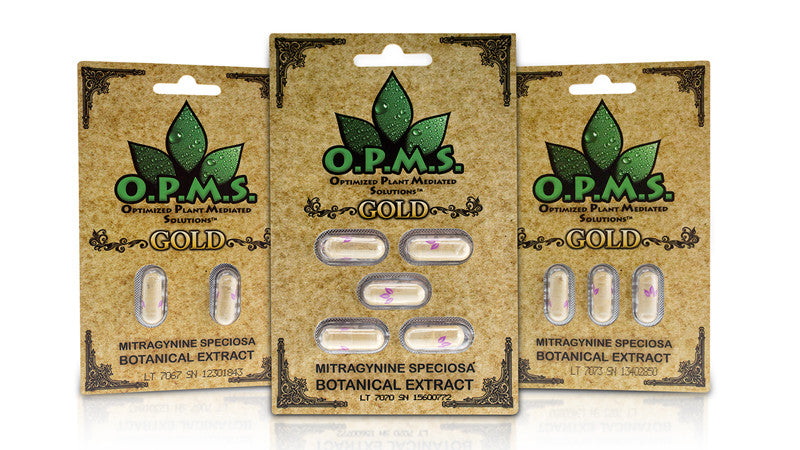 O.P.M.S. Gold 3CT Kratom