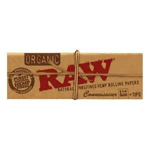Raw Connosseur Classic 1.25 W/ Tips