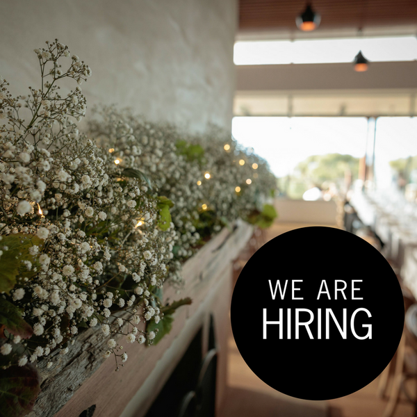 We are hiring - Wedding & Event Coordinator Bellarine Peninsula
