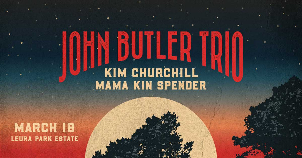 John Butler Trio at Leura Park Estate Bellarine Peninsula