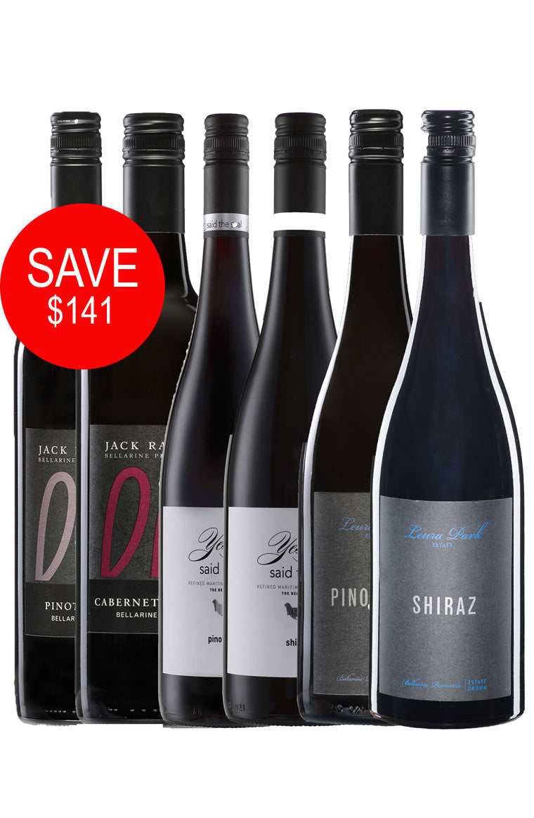 Bellarine Red Pack (12 Bottles)