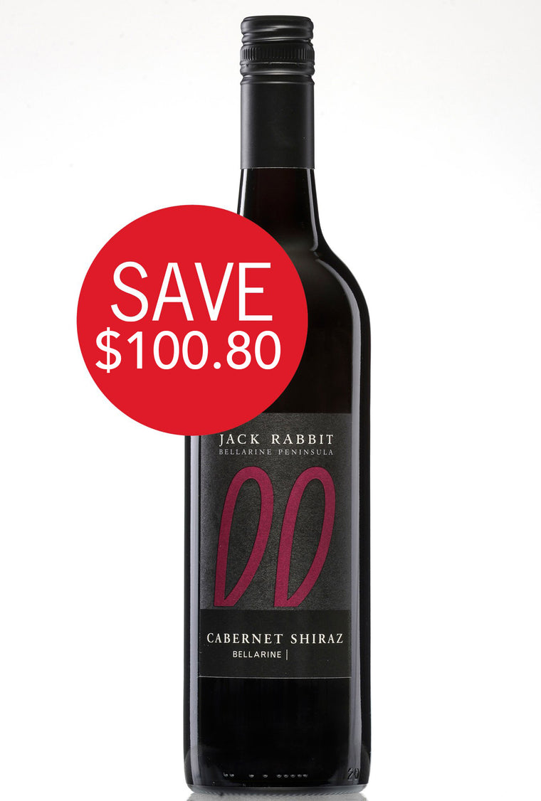 2017 Jack Rabbit Cabernet Shiraz case (12 bottles)