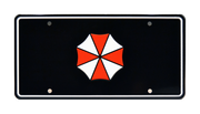 UMBRELLA CORPORATION prop plate movie memorabilia from Resident Evil: Apocalypse starring Milla Jovovich