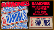 Home theatre décor from The Ramones with Dee Dee Ramone