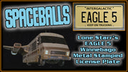 EAGLE 5 prop plate movie memorabilia from Spaceballs starring Mel Brooks