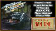 SMOKEY AND THE BANDIT <br /> '77 Trans Am (screen-accurate)