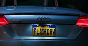 FLASHDRV license plate on Flash Thompson's Audi from Spider-Man: Homecoming