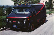 THE A-TEAM <br />Mr T's GMC Van