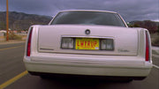 LWYRUP license plate on Saul Goodman's 1997 Cadillac from Breaking Bad