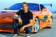 Movie collectible man cave décor from The Fast and The Furious with Deckard Shaw