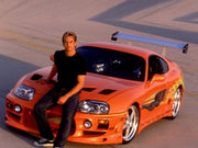 3NTQ305 license plate on Brian O' Conner's Toyota Supra from The Fast and The Furious