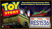RES1536 prop plate movie memorabilia from Toy Story with Buzz Lightyear