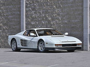 AIF 00M license plate on Sonny Crockett's Ferrari Testarossa from Miami Vice