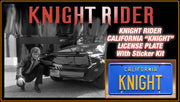 Home theatre décor from Knight Rider with Michael Knight