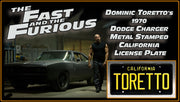 Home theatre décor from The Fast and The Furious with Dominic Toretto