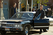 CNK 80Q3 license plate on Dean Winchester's 1967 Chevrolet Impala from Supernatural