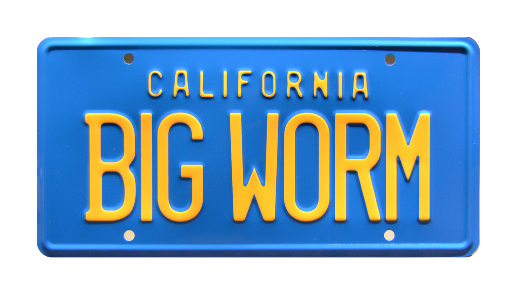 BIG WORM prop plate movie memorabilia from Friday starring Faizon Love