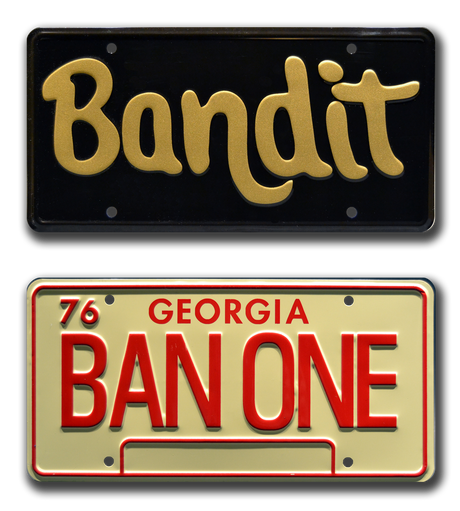 Movie collectible man cave décor from Smokey and the Bandit starring Pat McCormick
