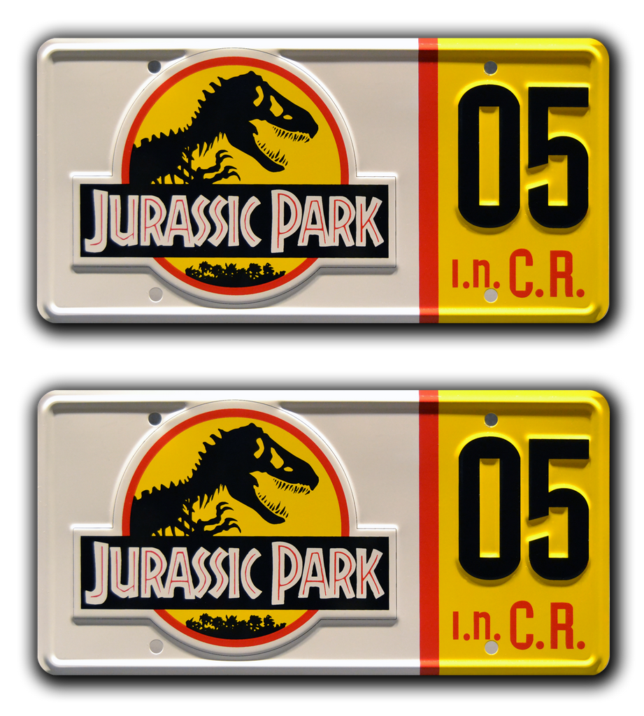 Movie collectible man cave décor from Jurassic Park with Dodgson