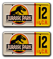 JURASSIC PARK <br />Two Plate Combo