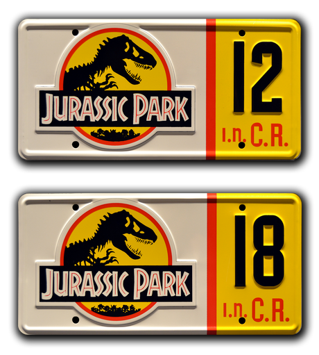 Movie collectible man cave décor from Jurassic Park with Ray Arnold